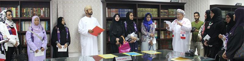 زيارة وفد مشهد نساء عُمان