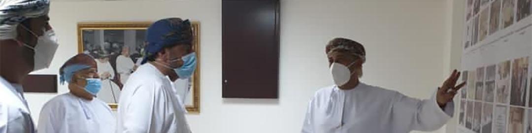 زيارة سعادة السيد/ سعيد بن سلطان البوسعيدي وكيل وزارة الثقافة والرياضة والشباب للثقافة
